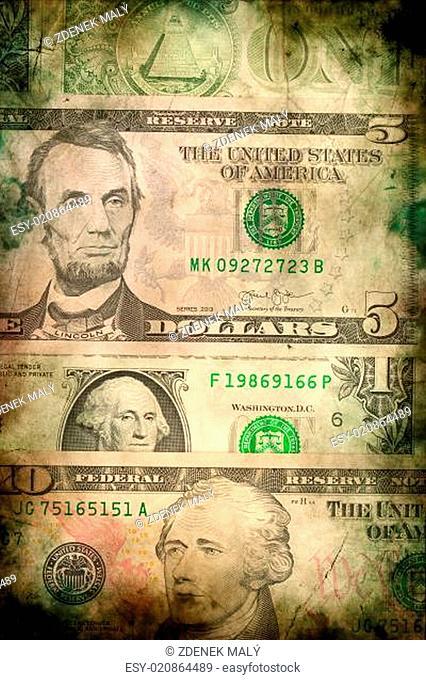USA dollar money banknotes texture background