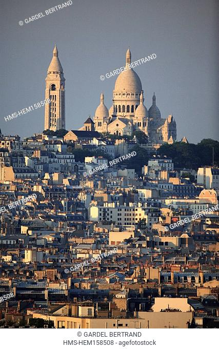 France, Paris, Sacre Coeur Basilica