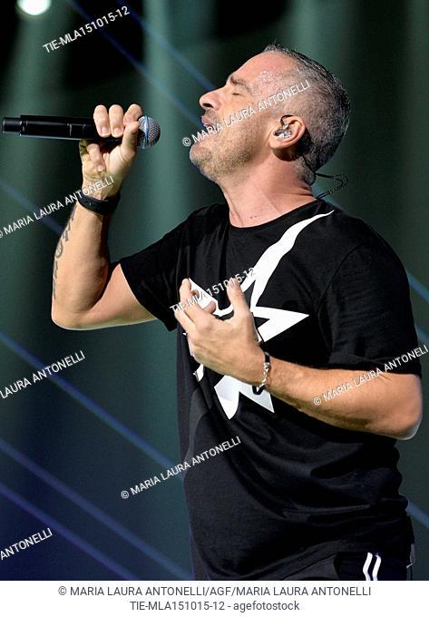 Eros World Tour 2015. Eros Ramazzotti in concert . Rome. Italy. 14/10/2015