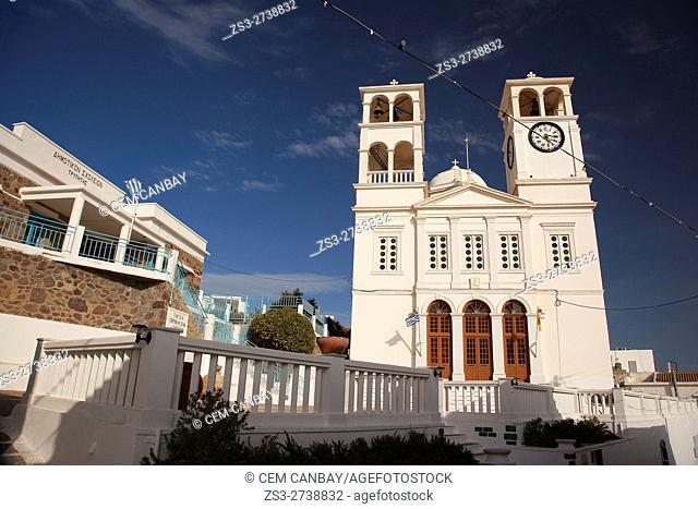 Agios Nikolaos church in Tripiti village, Milos, Cyclades Islands, Greek Islands, Greece, Europe