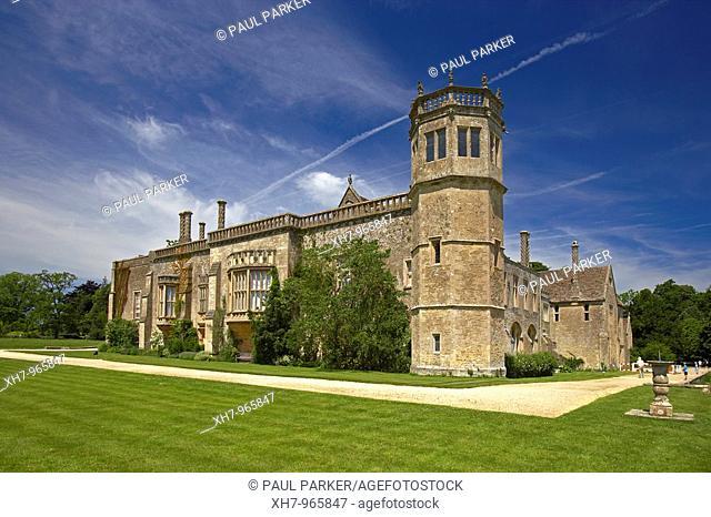 Lacock Abbey, Wiltshire, England, UK