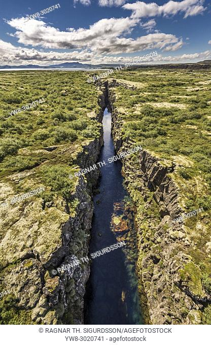 Thingvellir National Park, a Unesco World Heritage Site, Iceland