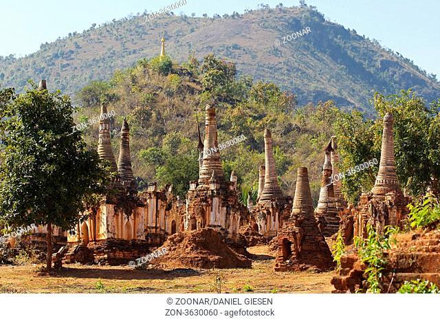 Shwe Inn Dein Pagoda, Myanmar