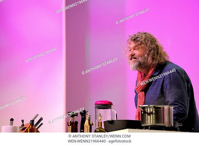 BBC Food Show Winter 2014 Featuring: Hairy Bikers,Si King Where: Birmingham, United Kingdom When: 26 Nov 2014 Credit: Anthony Stanley/WENN.com