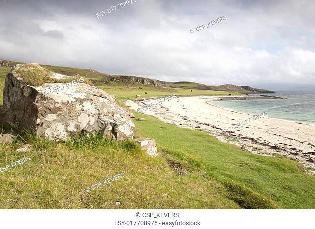 Coral Beaches; Waternish; Isle of Skye; Scotland; UK