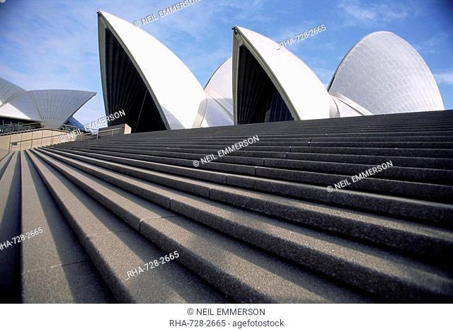 The Sydney Opera House, Sydney, New South Wales, Australia, Pacific