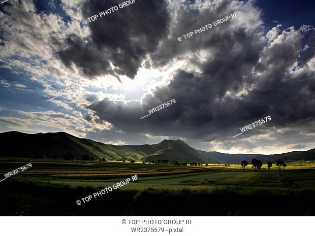 Landscape Greater Khingan Mountains Inner Mongolia