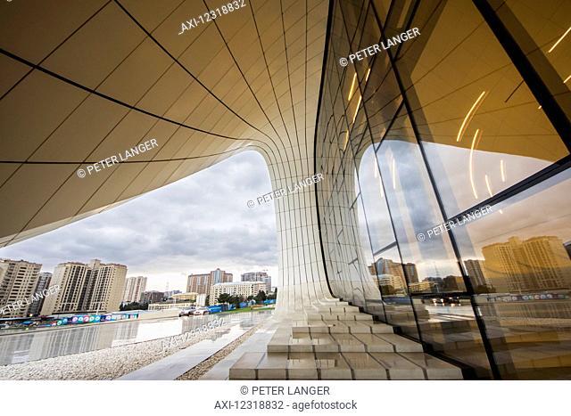 Heydar Aliyev Center; Baku, Azerbaijan