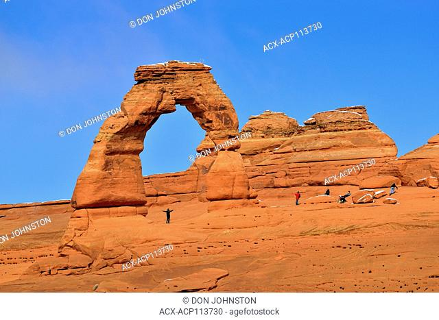 Delciate Arch, Arches National Park, Utah, USA