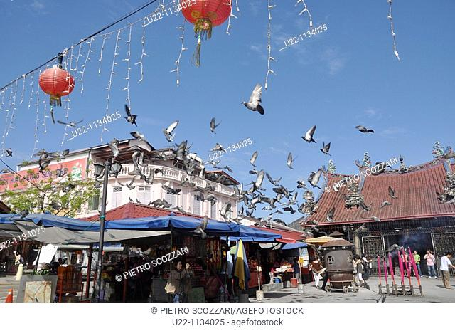 George Town, Penang (Malaysia): the Goddess of Mercy Chinese Temple