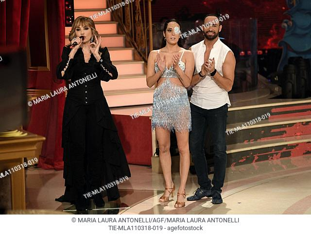 Don Diamont Hanna Karttunen During The Talent Show Dancing With The