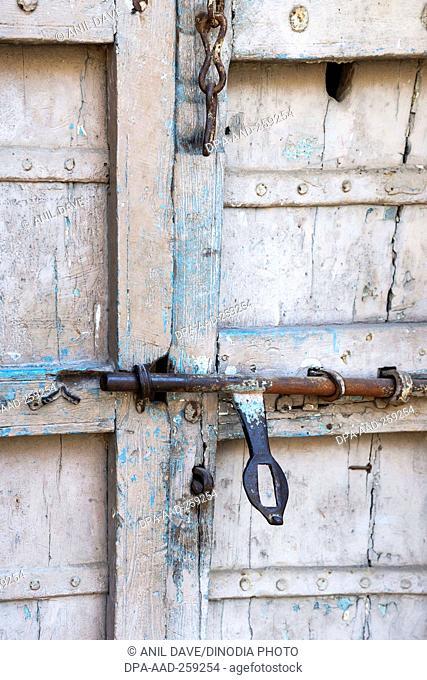entrance gate of bhadra fort, ahmedabad, Gujarat, India, Asia