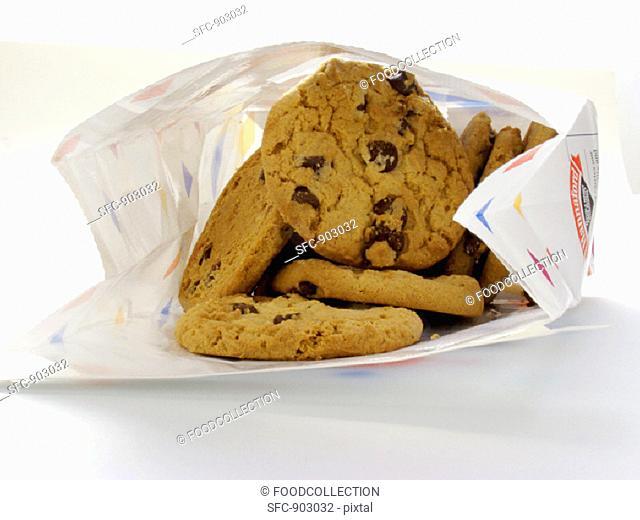 Bag of Chocolate Chip Cookies