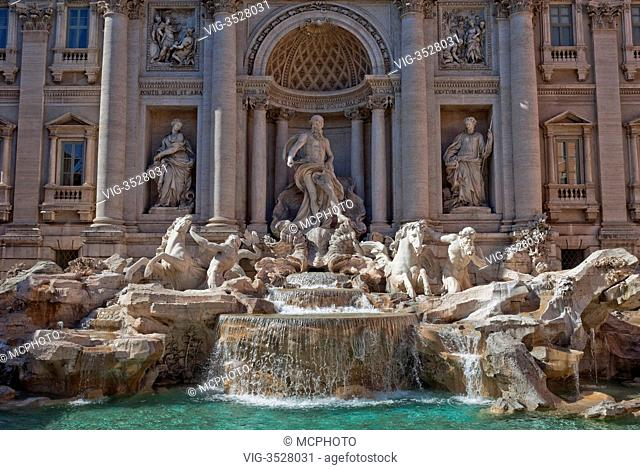 Trevi Fountain, Rome, Italy - 29/04/2009