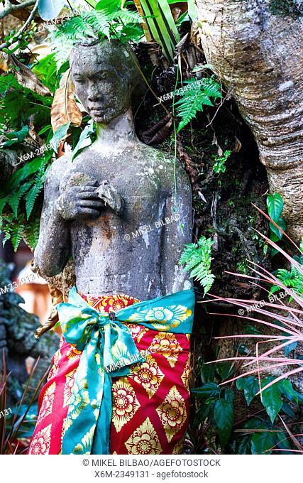 Decorative detail. Ubud Palace. Ubud. Bali. Indonesia