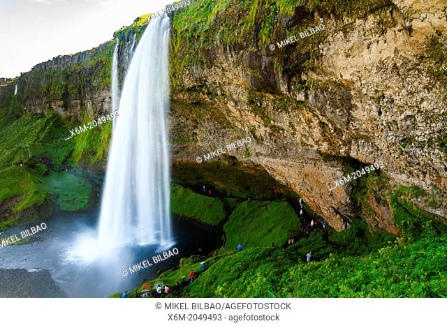 Seljalandsfoss waterfall. Iceland, Europe