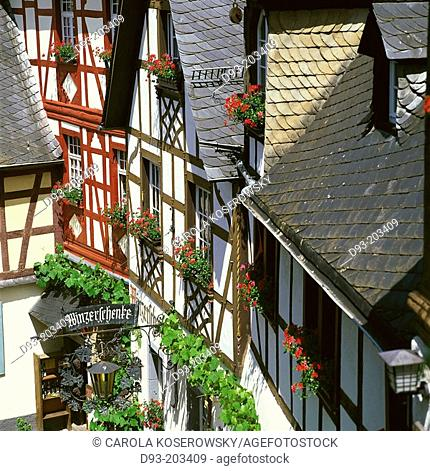 Beilstein. Mosel Valley. Germany
