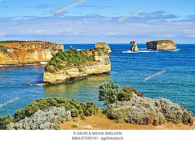 Bay of Islands (Warrnambool), Landscape, Great Ocean Road, Port Campbell National Park, Victoria, Australia, Oceania