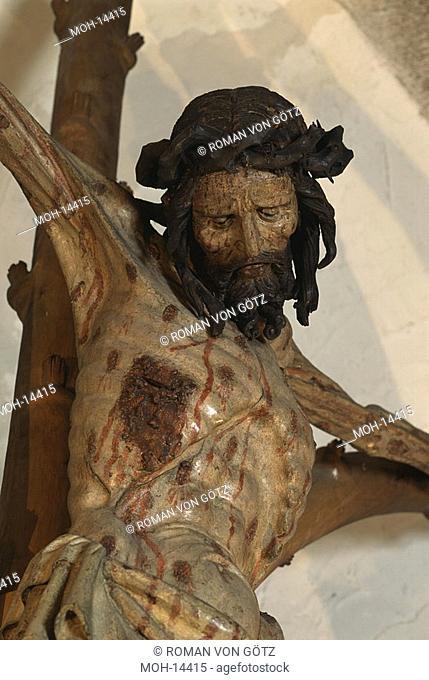 Pestkruzifixus im Westbau, Detail