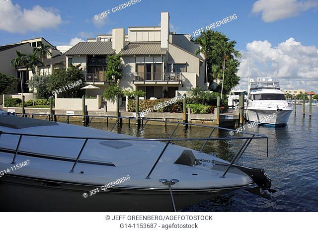 Florida, Fort Ft  Lauderdale, Hilton Fort Lauderdale Marina, hotel, view, Intracoastal Waterway, Stranahan River, Seminole River