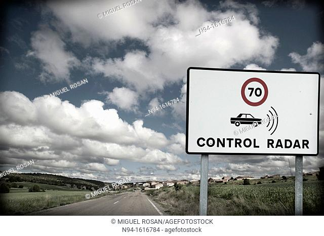 Road Traffic Badge, Report-controlled speed limit radar