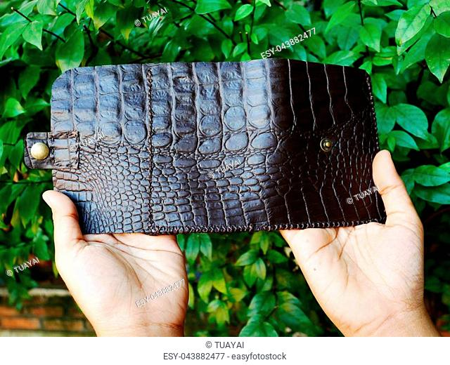 680040b96 My handmade wallets leather made from skin crocodile and other animal  leathers