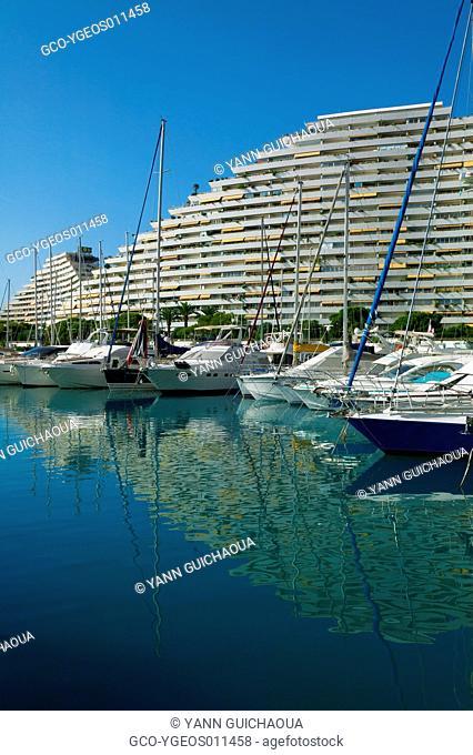 Marina Baie Des Anges, Villeneuve-Loubet, French-Riviera, France
