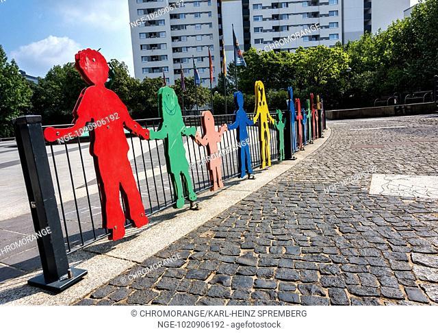 Figures at a children s playground