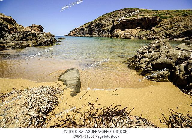Cala En Calderer, Ferreries, Menorca, Balearic Islands, Spain, Europe