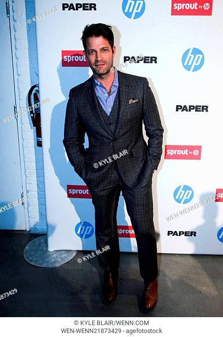 The Paper Magazine New Technology Launch at Center 545 Featuring: Nate Berkus Where: New York, New York, United States When: 29 Oct 2014 Credit: Kyle Blair/WENN