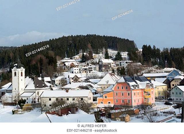 Gemeinde Vorderweissenbach im Winter