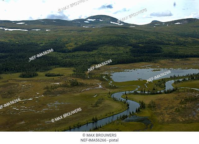 A river Are Jamtland Sweden