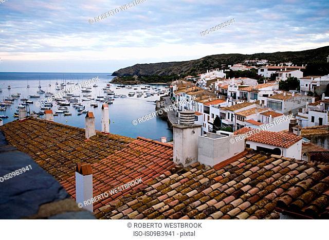 Harbour, Costa Brava, Catalonia, Cadaques, Girona, Spain