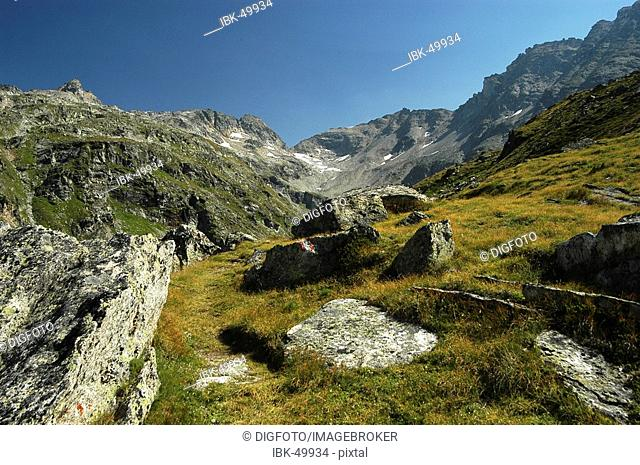 Mountain scenery, national park Hohe Tauern, Austria
