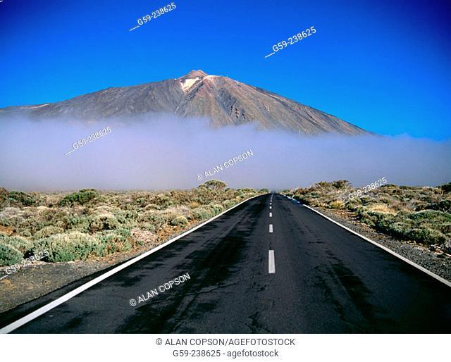 Roques de García. Teide National Park. Tenerife. Canary Islands. Spain