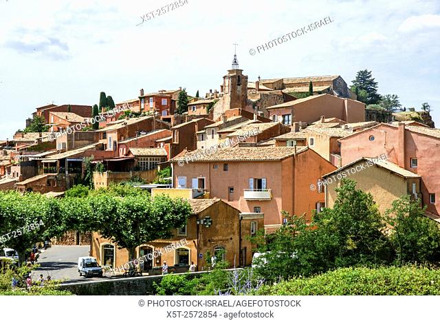 Roussillon is a commune in the Vaucluse department in the Provence-Alpes-Côte d'Azur region in southeastern France