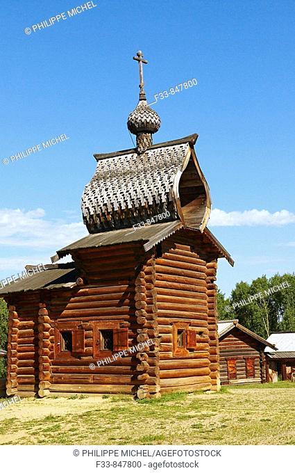 Wooden architecture open-air museum, Irkutsk, Irkutsk Oblast, Russia