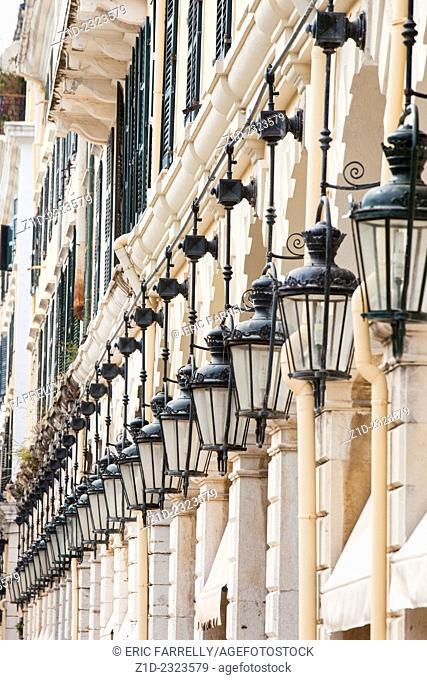 The Liston, The Espanade, Old Corfu Town