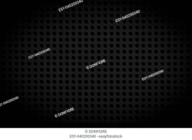 dark black regular plastic texture for background