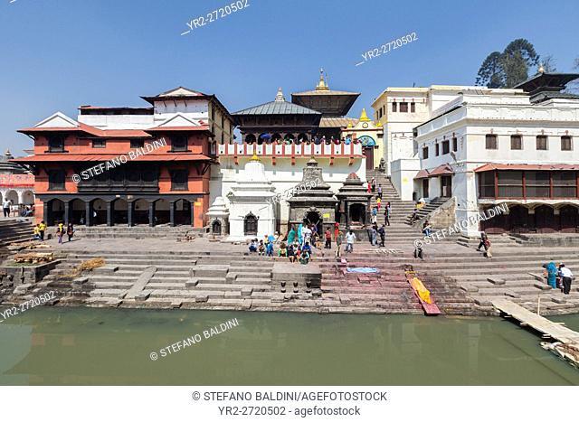 Pashupatinath temple complex, Kathmandu, Nepal