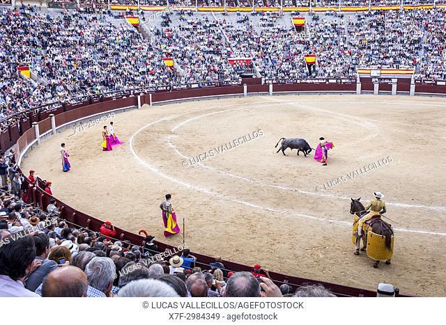 Las Ventas Bullring, Madrid, Spain