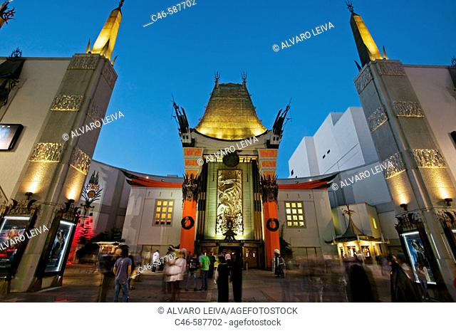 Mann's Chinese Theatre, Hollywood, Los Angeles, California, USA