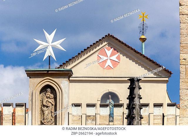 Church of Virgin Mary under Chain, Lesser Town, Prague, Czech Republic