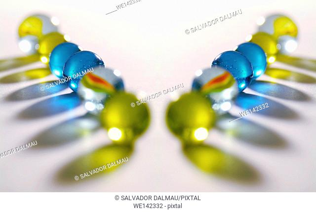 photography studio,game of marbles,creative composition,location girona,catalonia,spain,europe,