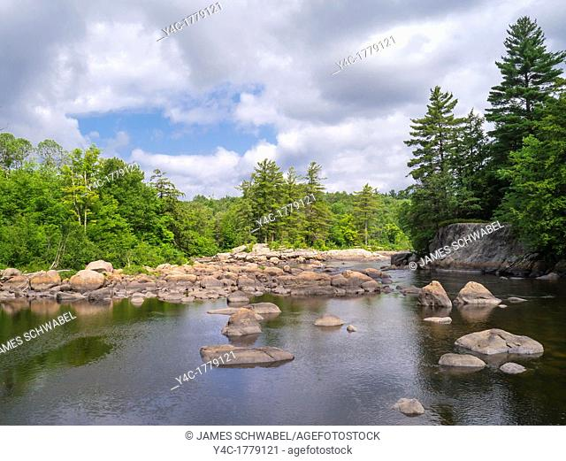 Moose River in the Adirondack Mountains of New York State