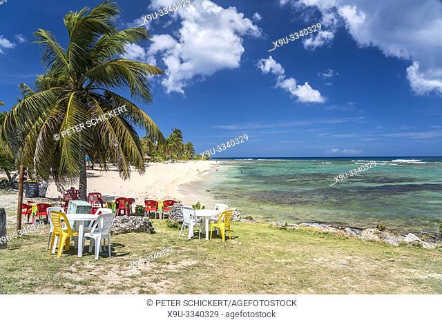 Plage de la Chapelle beach, Anse Bertrand, Grande-Terre, Guadeloupe, France