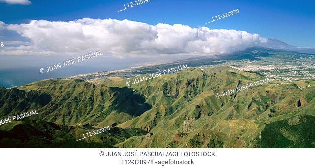 Anaga range. Tenerife, Canary Islands. Spain