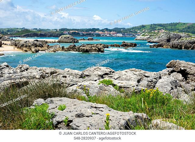 Playa de Noja. Cantabria. España. Europa