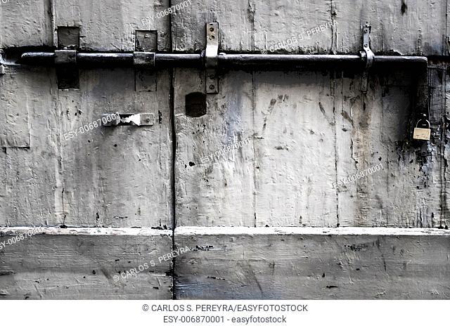 old door detail in Italy