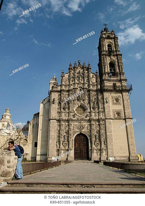 Iglesia de San Francisco Javier, hoy Museo del Virreinato Tepotzotlán, México